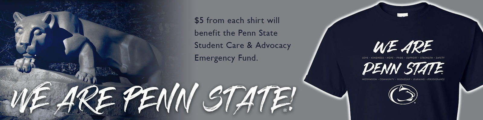 Click to Shop Our Penn State Inspire T-shirt