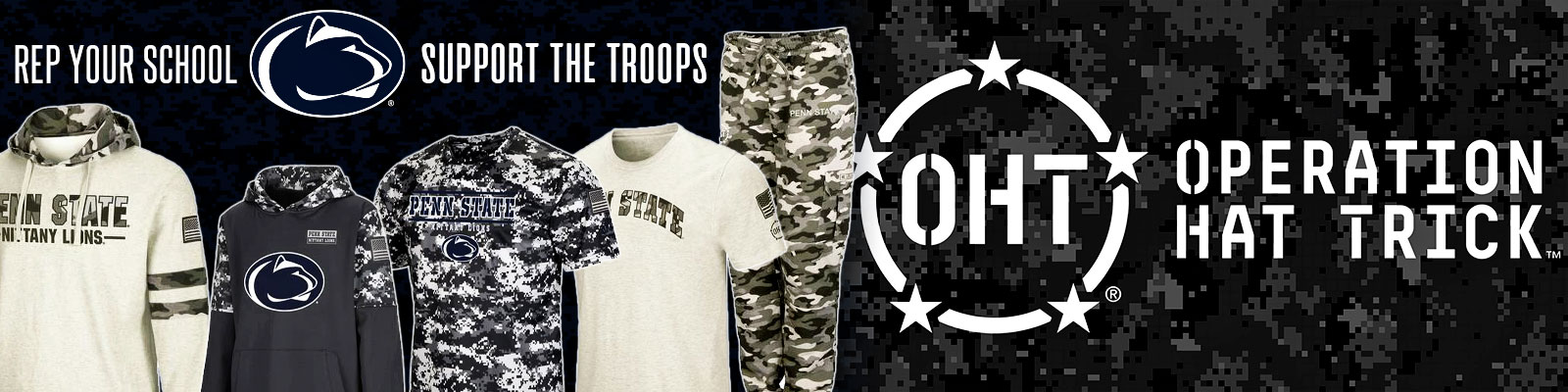 Click to Shop Our Penn State Operation Hat Trick Gear