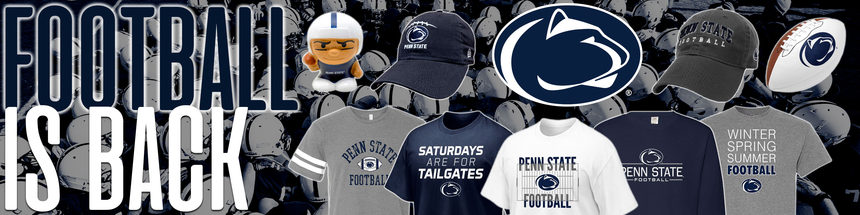 Click to Shop Our Penn State Rugged Stickers and Decals