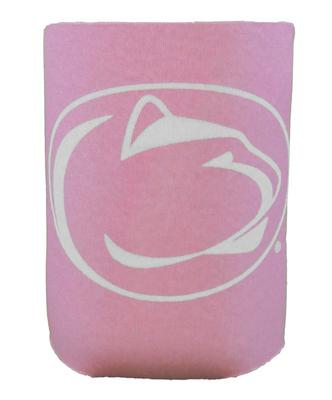 JayMac - Penn State Nittany Lions Logo Pink Can Cooler
