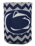 Penn State Nittany Lions Logo Chevron Can Cooler NAVYWHITE
