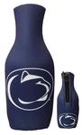Penn State Logo Zippered Navy Bottle Cooler