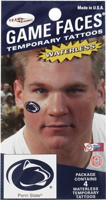Innovative Adhesives - Penn State Logo Waterless Tattoo