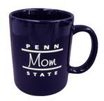 Penn State Mom Line Mug NAVY