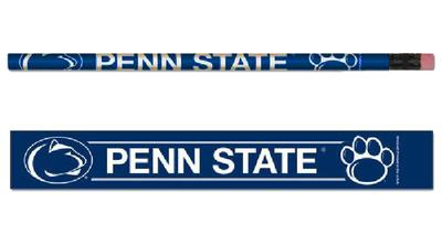 Wincraft - Penn State Paw Logo 6 Pack Pencils