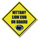 Penn State Nittany Lion Cub on Board 6