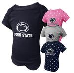 Penn State Infant Logo Block Lap Shoulder Creeper