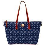 Penn State Dooney & Bourke Shopper Tote Bag NAVY