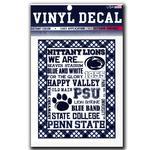 Penn State Spirit Block 6