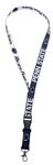 Penn State Navy Detachable Buckle Lanyard