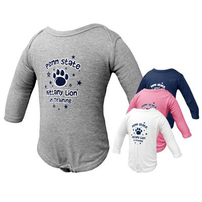 The Family Clothesline - Penn State Infant Long Sleeve Training Creeper