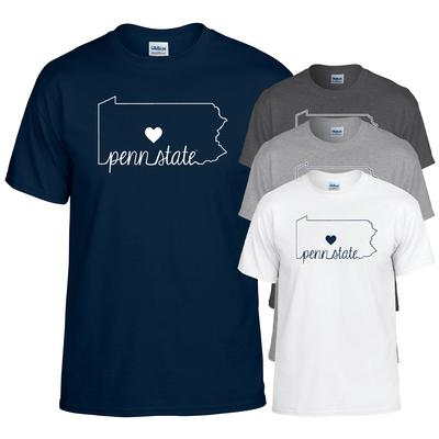 The Family Clothesline - Penn State Heart State T-Shirt