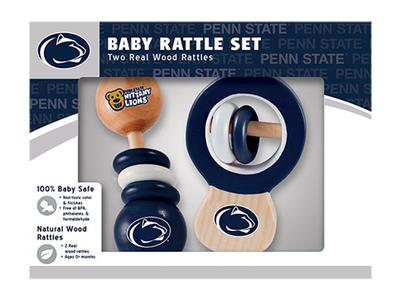 Masterpieces Puzzle Co. - Penn State Infant Wooden Rattle Set
