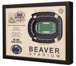 Penn State Wooden Beaver Stadium View Frame