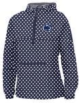 Penn State Women's Polka Dot Anorak Jacket