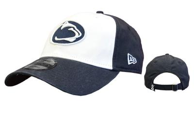 New Era Caps - Penn State Adult Core Classic Twill White Front Hat