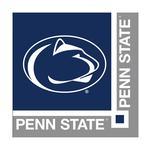 Penn State Logo Beverage Napkins NAVYSILVER