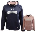 Penn State Under Armour Youth Girls' Armour Fleece Hood