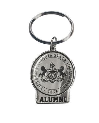 Jardine Gifts - Penn State Alumni Silver Plated Keychain
