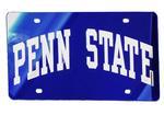 Penn State Arch License Plate NAVYSILVER