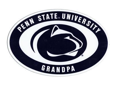 SDS Design - Penn State Euro Grandpa Magnet