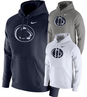 NIKE - Penn State Nike Men's NK PO Fleece Club Hood
