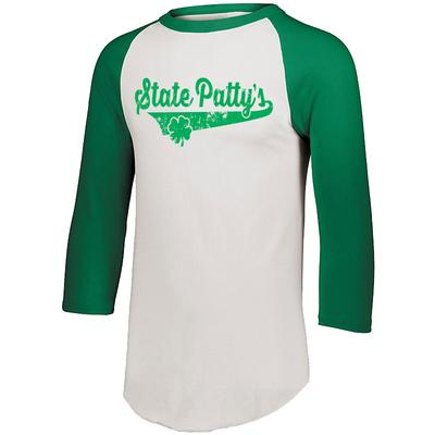 The Family Clothesline - Adult State Patty's Baseball 3/4 Long Sleeve