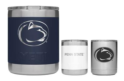 Penn State Nittany Lions Engraved 16oz Stainless Steel Travel Mug Blue