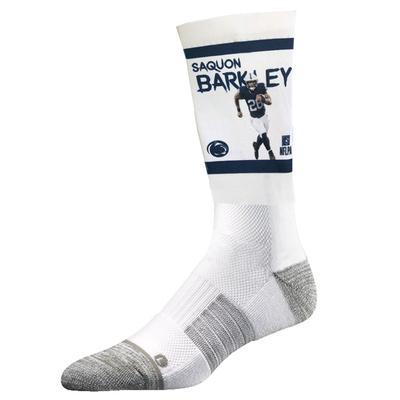 Strideline - Penn State Adult Saquon Barkley Running Crew Socks