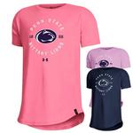 Penn State Under Armour Youth Girls' PS Nit Lions T-Shirt PINK LEMONADE