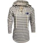 Penn State Women's French Lace-Up Terry Hood NAVYCREAM