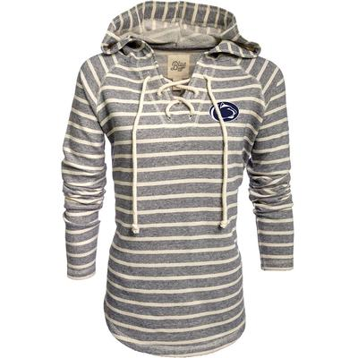Blue 84 - Penn State Women's French Lace-Up Terry Hood