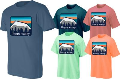 The Family Clothesline - Penn State Adult Happy Valley Mountains T-Shirt
