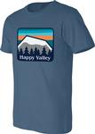 Penn State Adult Happy Valley Mountains T-Shirt STBLU