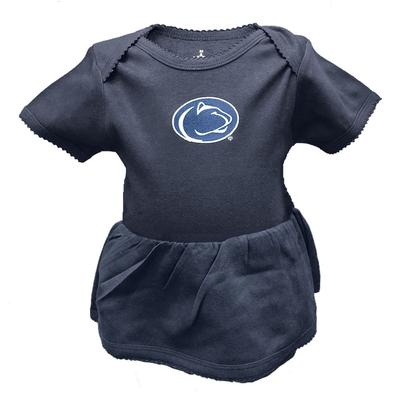 Creative Knitwear - Penn State Infant Picot Dress Bodysuit