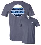 Penn State Uscape Adult Unisex Scenic Circle T-Shirt