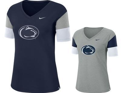 NIKE - Penn State Nike Women's NK Breathe T-Shirt