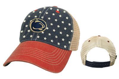 Legacy - Penn State Adult Old Favorite 'Merica Trucker Hat