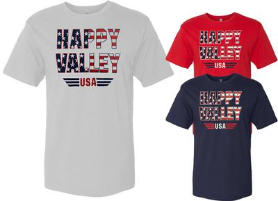 The Family Clothesline - Penn State Adult Happy Valley USA T-Shirt