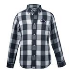 Penn State Toddler Cooper Flannel Dress Shirt NAVY