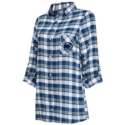 Concepts Sport - Penn State Women's Piedmont Flannel Nightshirt
