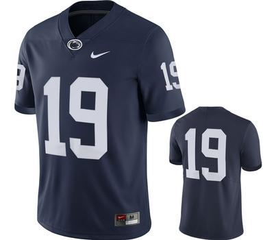 NIKE - Penn State Nike #19 Twill Football Jersey