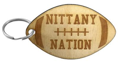 Rock Lion - Penn State Nittany Nation Football Keychain