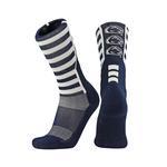 Penn State Stripe Crew Socks NAVYWHITE