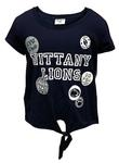 Penn State Youth Adore Tie T-shirt NAVY