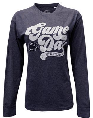 Press Box - Penn State Women's Retro Gameday Long Sleeve