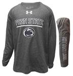 Penn State Youth Under Armour Tech Long Sleeve CARBH