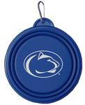 Penn State Collapsible Dog Bowl BLUE