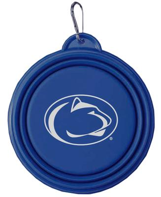 Neil Enterprises - Penn State Collapsible Dog Bowl