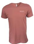 Penn State Embroidered T-Shirt MAUVE